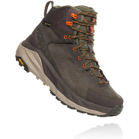 Hoka One One Kaha GTX Saappaat Miehet, black olive/green